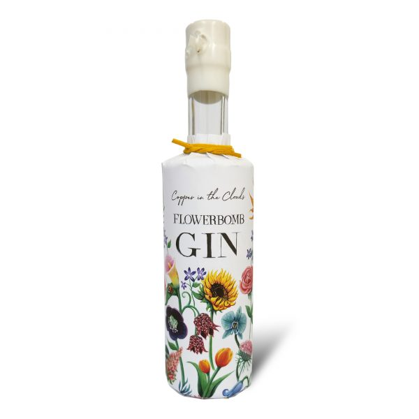 Flowerbomb Gin 350ml by Copper in the Clouds