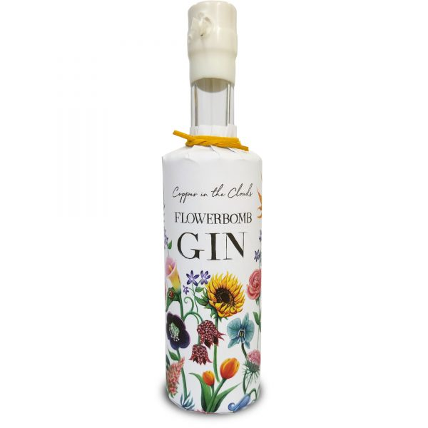 Flowerbomb Gin by Copper in the Clouds - 350ml half bottle