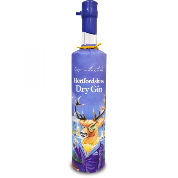 Hertfordshire Dry Gin by Copper in the Clouds 700ml 43% abv